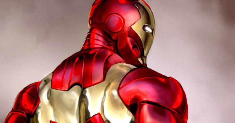 New Iron Man Armor Unveiled in Captain America: Civil War Art