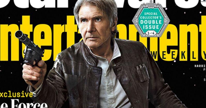 Star Wars 7 EW Covers with Han, Rey, Finn, C3PO & R2D2