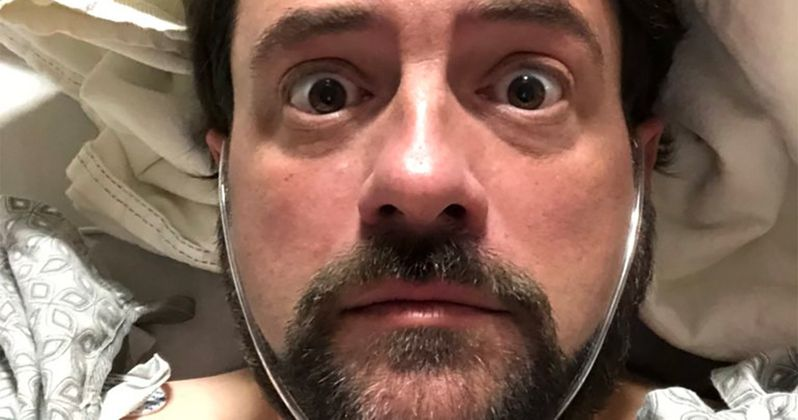 Kevin Smith Has Massive Heart Attack, Lives to Tweet About It