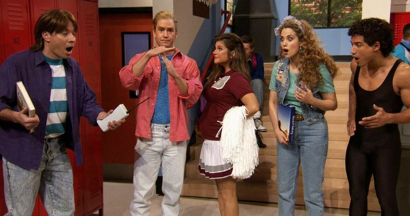 Saved by the Bell Cast Reunites on Jimmy Fallon