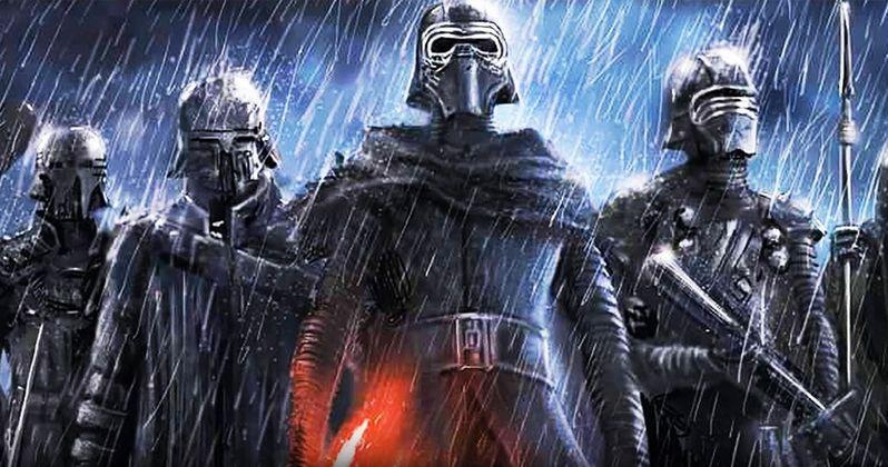 New Star Wars Knights of Ren Concept Art Leaks