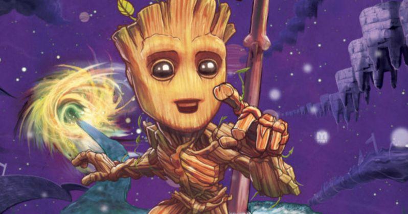 Baby Groot Is Getting His Own Marvel Comic Book Series