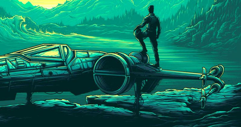 X-Wings Take Flight in Star Wars: The Force Awakens IMAX Poster