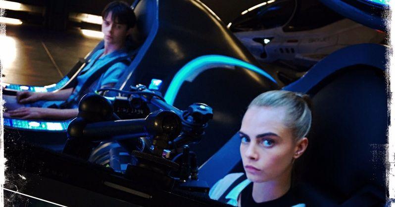 Luc Besson Sci-Fi Thriller Valerian Set Photos Emerge