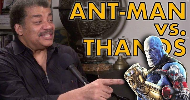 Neil DeGrasse Tyson Weighs in on Gross Avengers: Endgame Ant-Man Theory