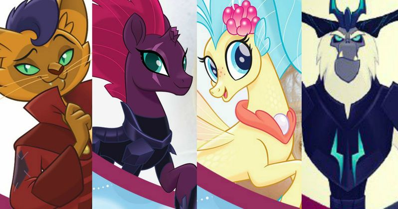 My Little Pony the Movie Cast Photos Reveal All-New Charcters