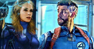Fantastic Four Reboot Is Perfect for John Krasinski & Emily Blunt