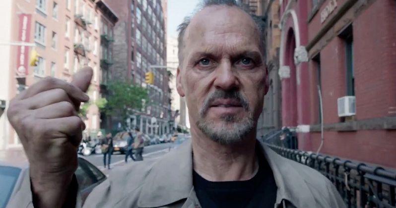 Michael Keaton Makes a Comeback in Birdman TV Spot