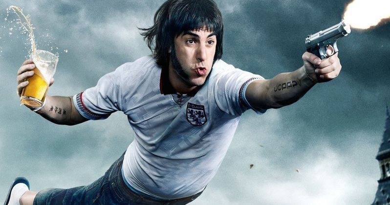 Brothers Grimsby Poster: Sacha Baron Cohen Comes Out Shooting