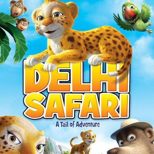 EXCLUSIVE: Delhi Safari DVD Poster