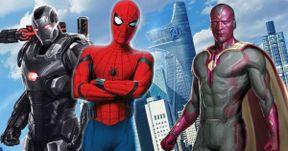 Vision & War Machine Were Almost in Spider-Man: Homecoming
