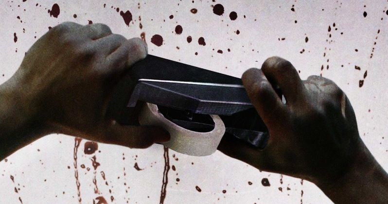 Belko Experiment Poster Turns Office Supplies Into a Deadly Weapon