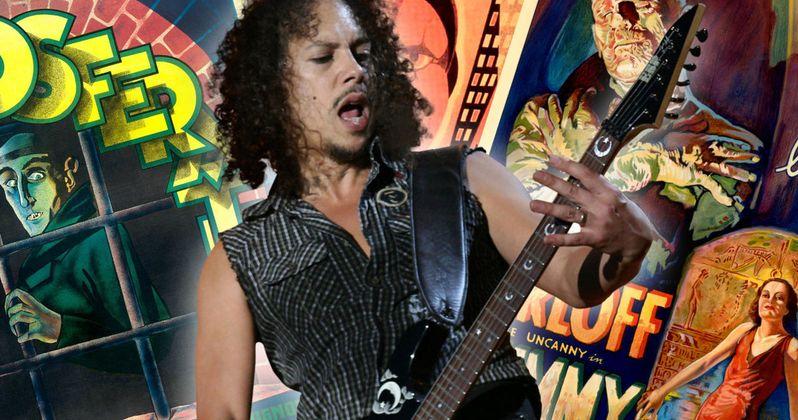 Metallica's Kirk Hammett Unveils His Massive Horror Movie Poster Collection