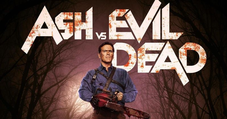 Ash Vs. Evil Dead Poster Has Bruce Campbell Ready to Fight