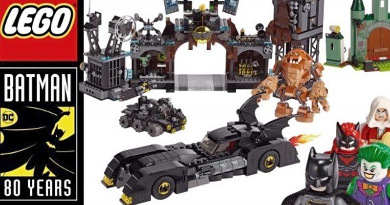Batman 80th Anniversary Lego Sets Include Massive Batcave