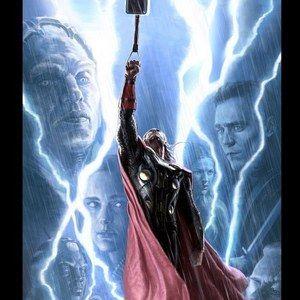 COMIC-CON 2013: Thor: The Dark World Concept Art Poster
