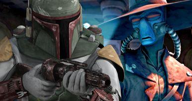 Boba Fett Vs. Cad Bane in Star Wars: Clone Wars Deleted Scene