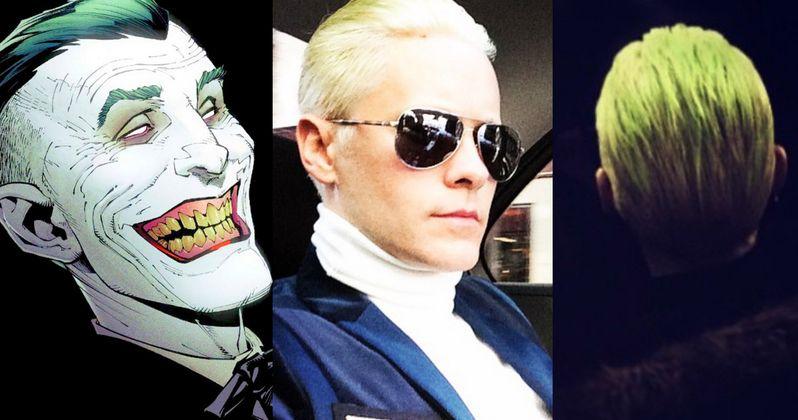Suicide Squad Jared Leto Reveals Joker\u0027s Haircut