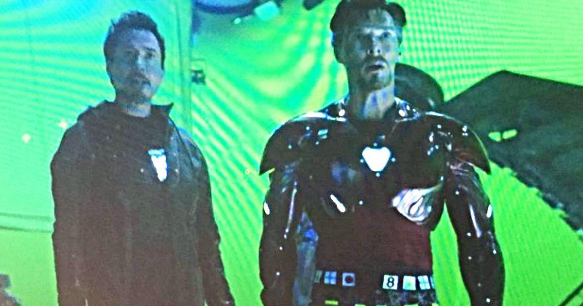 Doctor Strange Becomes Iron Man In Avengers: Infinity War Deleted Scene Image