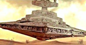 Star Wars Fan Recreates Canceled Force Awakens Star Destroyer Crash