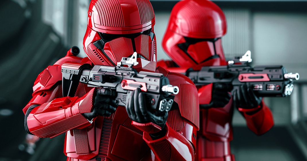 Sith Troopers' Force Powers Teased in Latest Look at The Rise of Skywalker