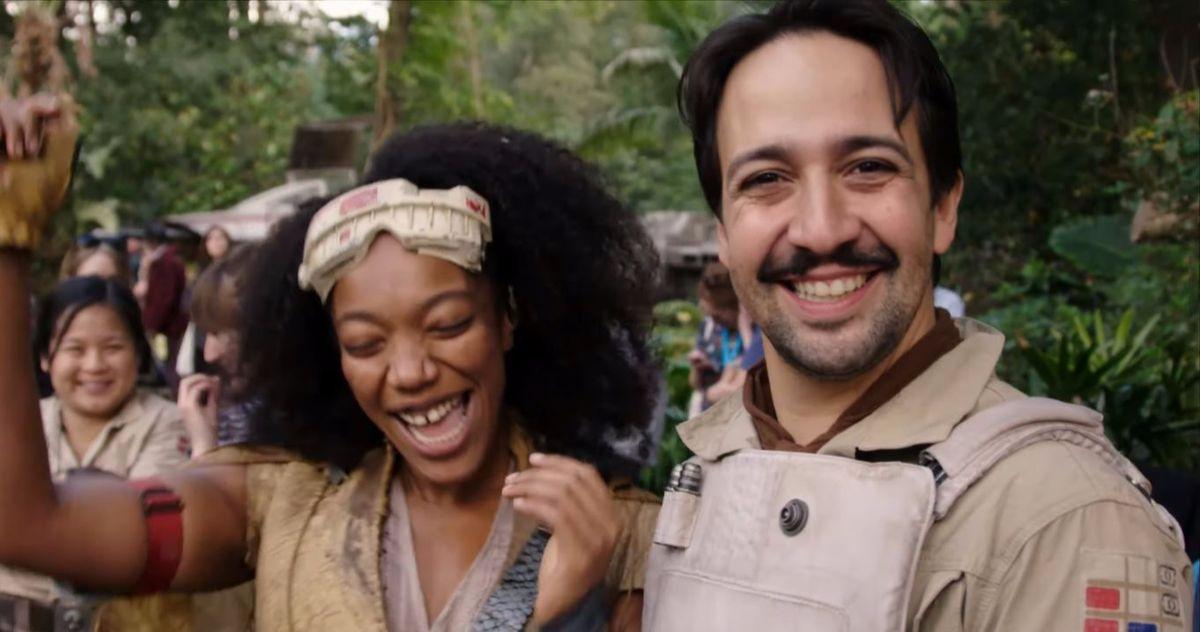 Lin-Manuel Miranda's The Rise of Skywalker Song Showcased in New Star Wars 9 Clip