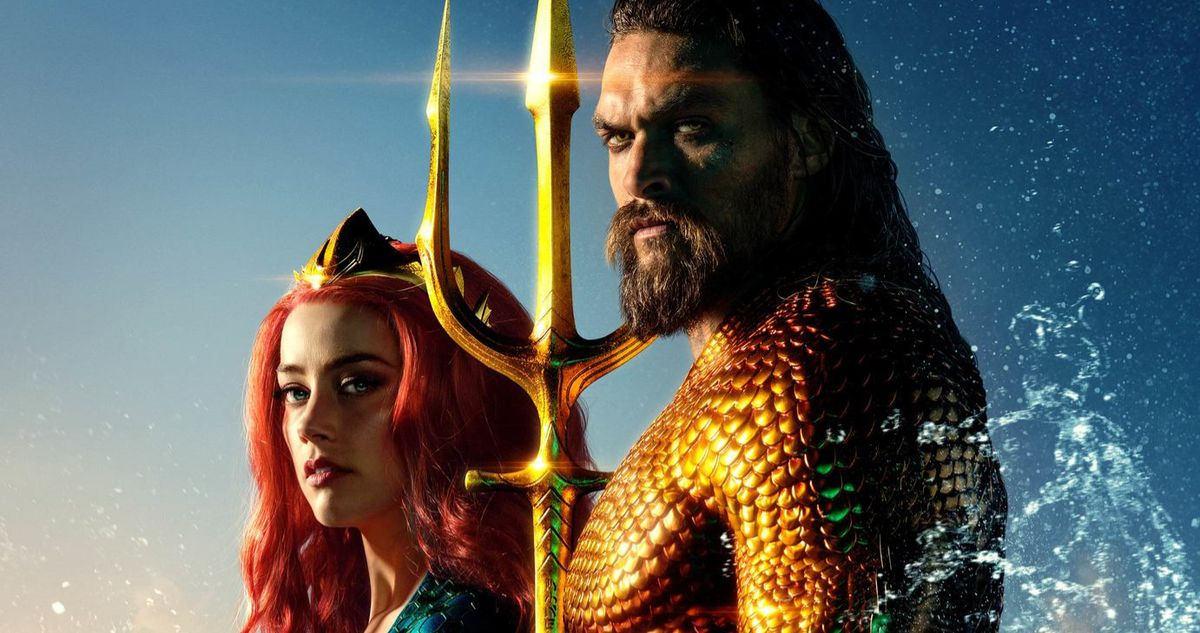 Aquaman 2 Amber Heard Jason Momoa Reuniting