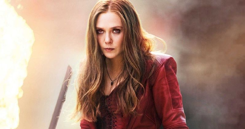 Scarlet Witch Returns in Captain America: Civil War Preview