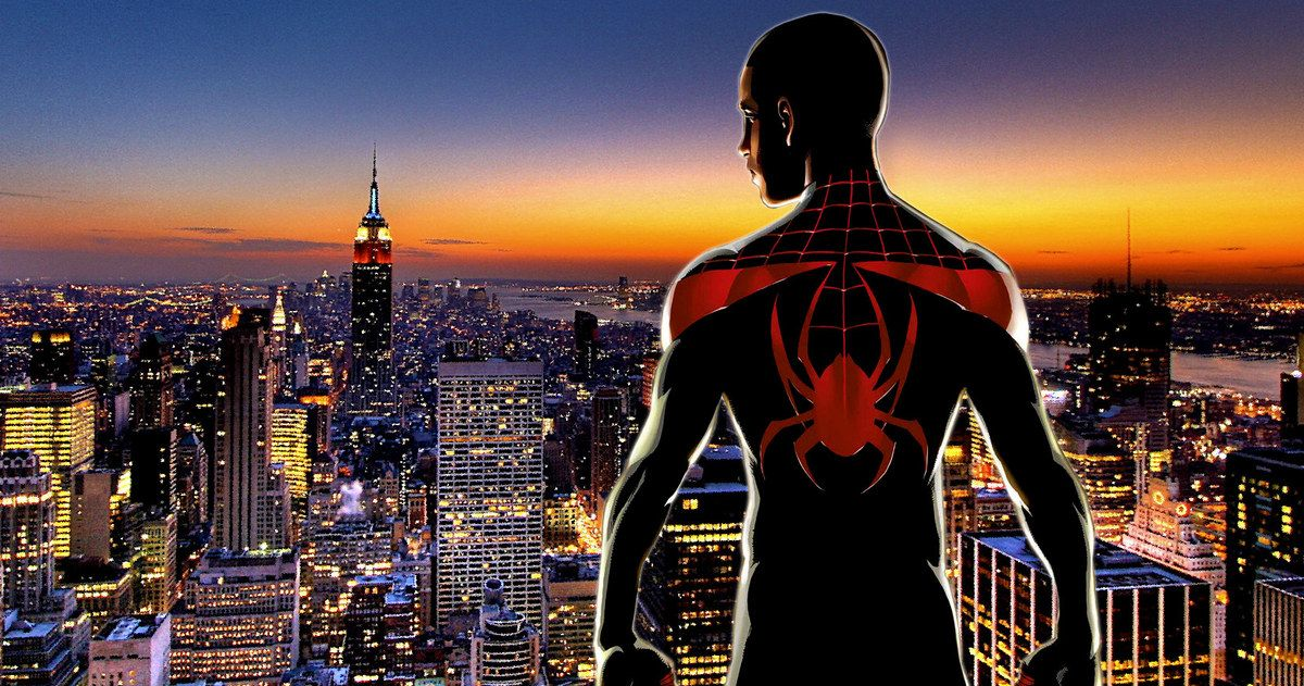 Web Com Reviews >> Spider-Man Animated Movie to Follow Miles Morales?
