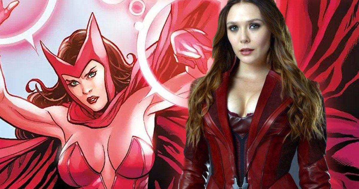 Elizabeth Olsen Was Upset With Her Infinity War Suits Cleavage