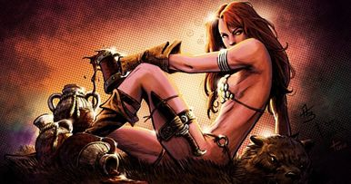 Red Sonja Moves Forward with a New Writer