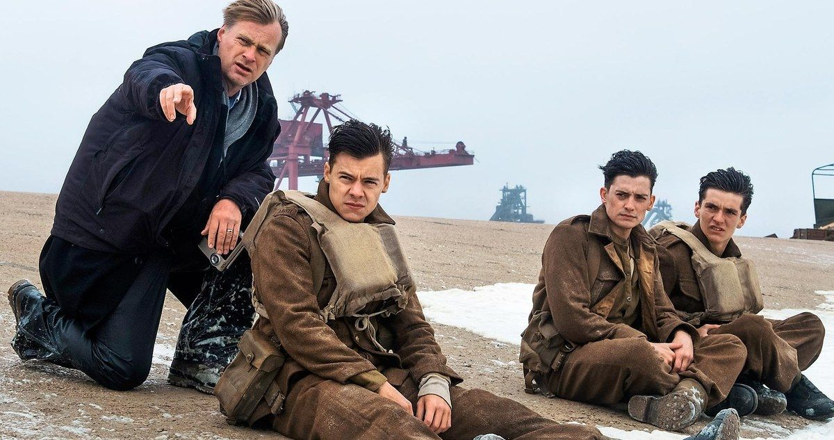Christopher Nolan Calls Dunkirk Cast One of the Greatest Ever
