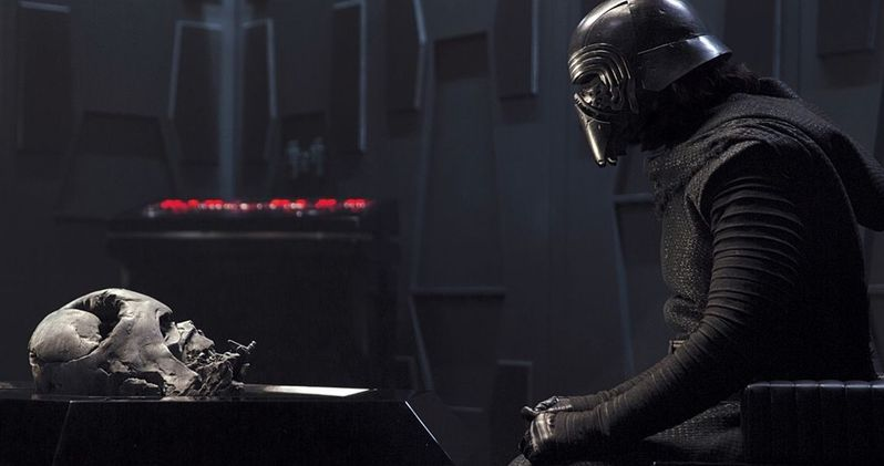 Star Wars 9 Gives Kylo Ren a New Darth Vader-Inspired Helmet?