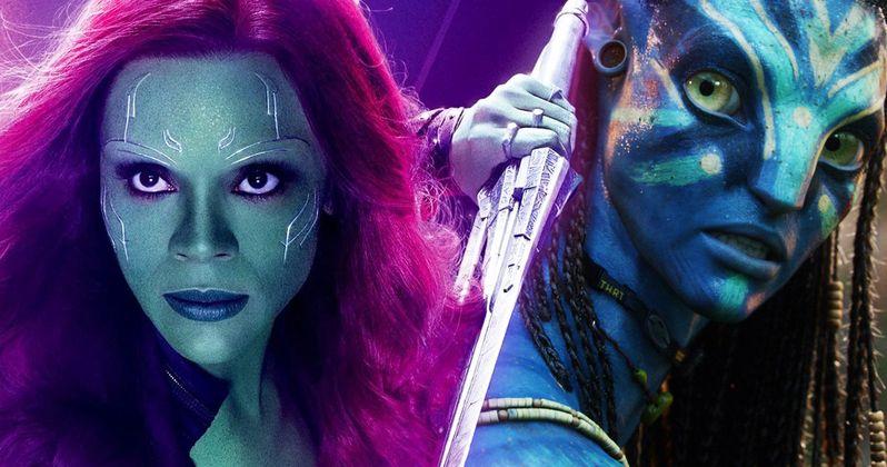 Zoe Saldana Responds to James Cameron's Criticism of Marvel