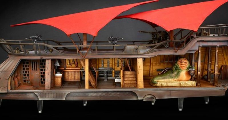 Massive Jabba Sail Barge Toy Is What Every Star Wars Fan Needs