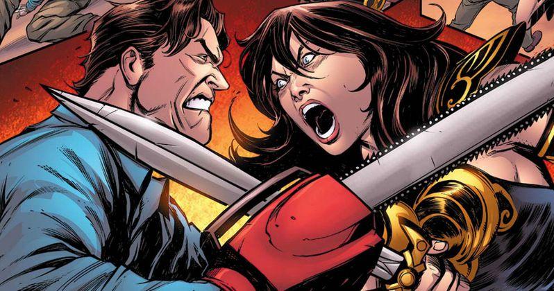 Xena & Ash Vs. Evil Dead in Army of Darkness Crossover Comic
