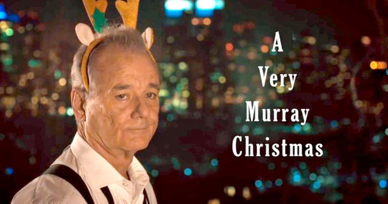 Murray Christmas.A Very Murray Christmas Trailer Bill Murray Comes To Netflix