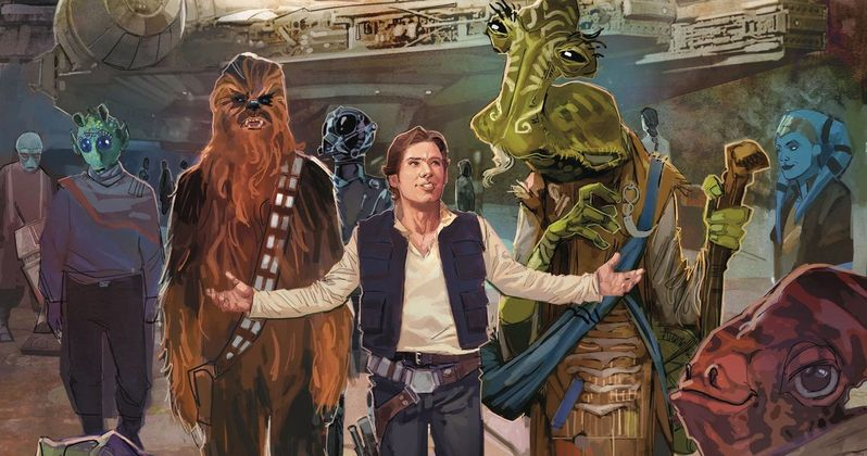 Star Wars: Galaxy's Edge Comic Revisits Iconic Return of the Jedi Moment