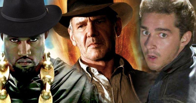 Kanye West Swiped Shia LaBeouf's Indiana Jones Hat