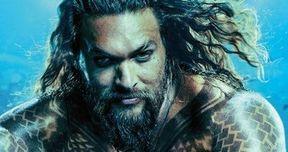 Aquaman Teaser Sends Jason Momoa Over a Cliff