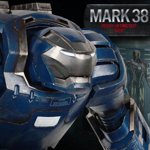 Iron Man 3 Mark 17 'Heartbreaker' and Mark 38 'Igor' Armor