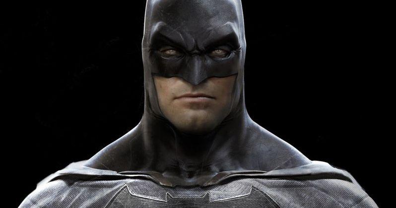 Batman v Superman Concept Art Shows Off Ben Affleck's Batsuit
