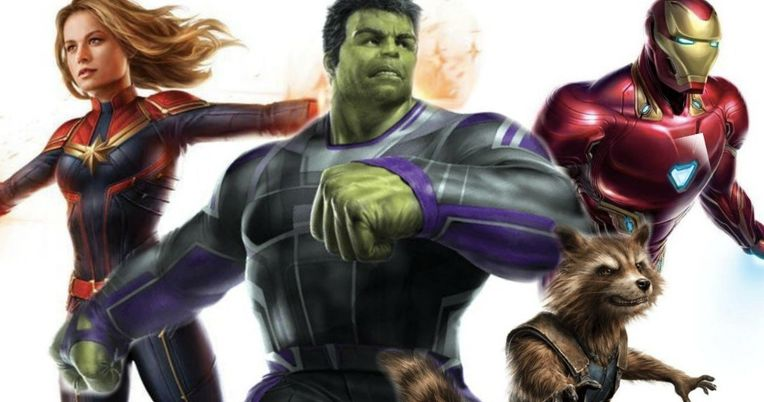 Avengers 4 High-Res Art Has a Better Look at Hulk's New Costume