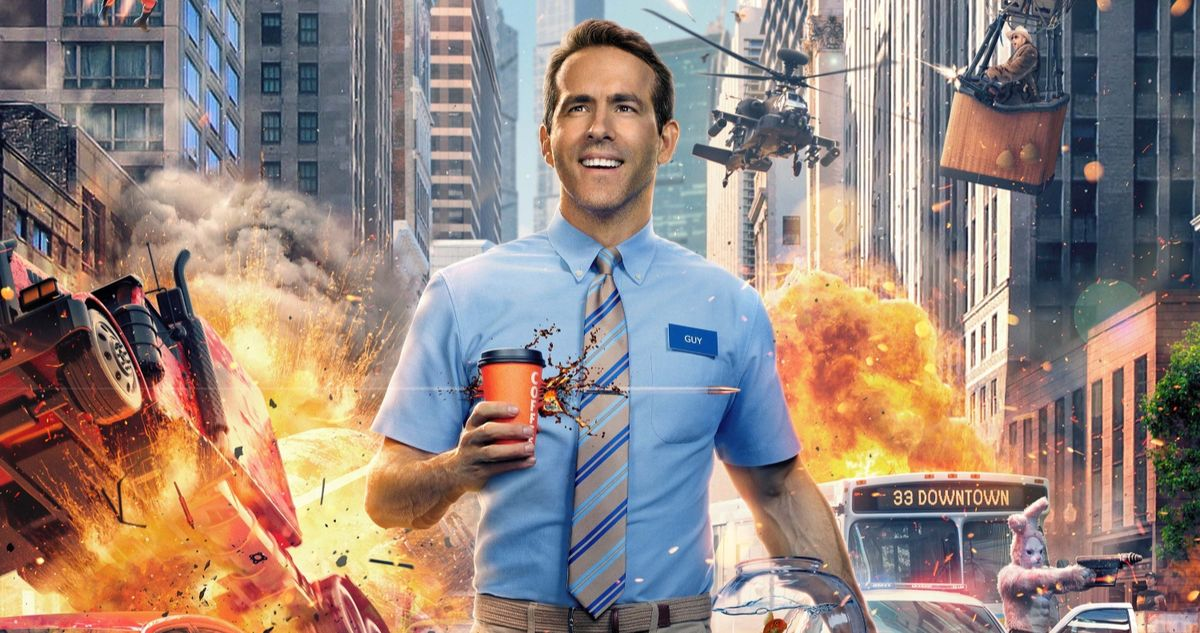 Free Guy Trailer Has Ryan Reynolds Trapped in a Wild Video