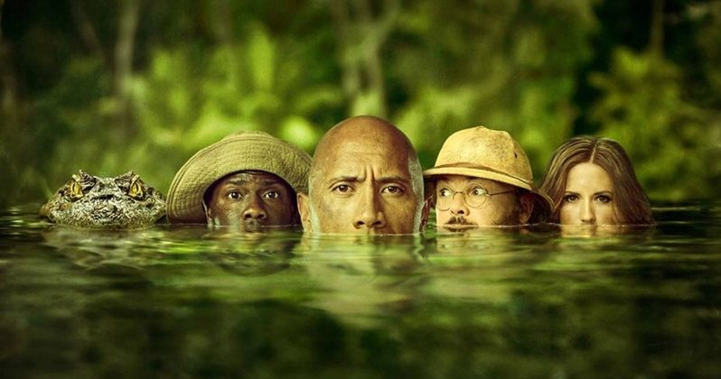 Jumanji 2 Poster Is Ready to Make a Meal Out of Kevin Hart