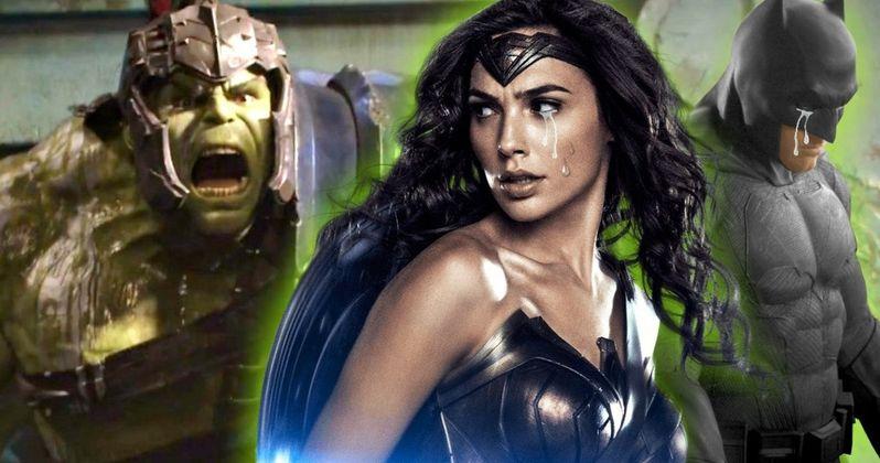 Batman & Wonder Woman Just Watched the Thor: Ragnarok Trailer