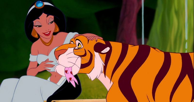 Jasmine's Tiger Will Return in Disney's Aladdin Remake