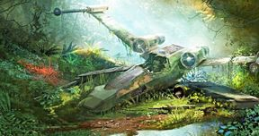 Leaked Star Wars 9 Set Photos Travel Deep Into a New Jungle Planet