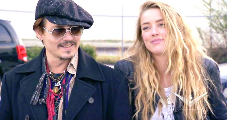 Watch Johnny Depp Pull an Epic Prank on Wife Amber Heard