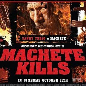 Machete Kills UK Quad Poster